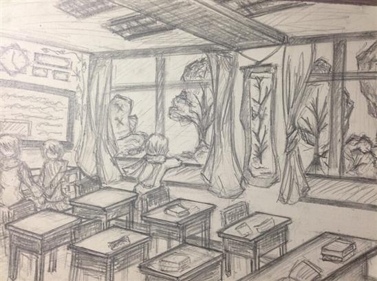 素描教室平面设计图